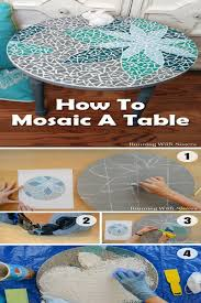 Diy Mosaic Table 15 Easy But Stunning Diy Mosaic Craft Projects For Your Home Decor