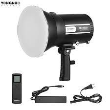 remote audio video lighting yongnuo yn100 led video light 100w sun light 5500k 2 4g wireless