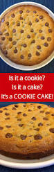 best easy chocolate chip cookie cake recipe chocolate chip