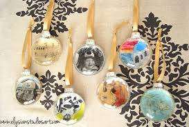 personalized diy ornaments mod podge rocks