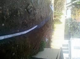 Drainage Patio Exterior Drainage Regrading Bluestone Patio Installation D S