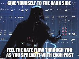 Side By Side Meme Generator - darth vader come to the dark side imgflip