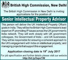 Finance Advisor Job Description Job Senior Intellectual Property Advisor New Delhi Office