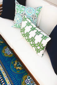 World Market Outdoor Pillows by Jojotastic Deck Makeover With World Market The Reveal
