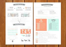 unique wedding program templates template wedding program template