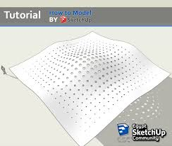 simple parametric design how to model in sketchup access to