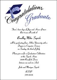 graduation party invitation wording graduation party invitation wording sles cimvitation