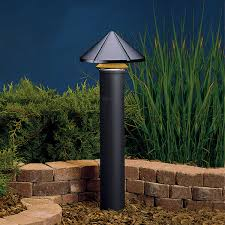 Kichler Deck Lights by One Tier 12v Path And Spread Light In Black