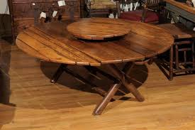 old hickory coffee table w lazy susan 351bf