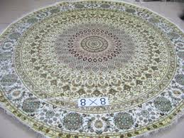 Round Persian Rug Wholesale Hand Knotted Round Persian Rug 8 X 8