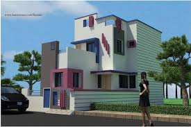 designer house plans small low cost attractive gujarat house design