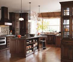 dark cherry kitchen cabinets diamond cabinetry