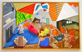 modern art monday presents david hockney large interior los