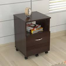 Single Drawer Cabinet Mobile Single Drawer Espresso File Cabinet Free Shipping Today