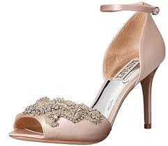 wedding shoes mid heel badgley mischka designer bridesmaid shoes and wedding shoes