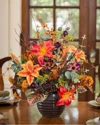 shop silk centerpieces and fall flower arrangements for