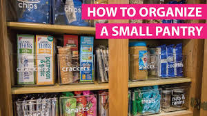 how to store food in a cupboard organizing a small pantry with the konmari method free