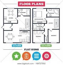 kitchen furniture list architecture plan furniture house vector photo bigstock