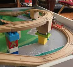 Make Wood Toy Train Track by 28 Toy Stories From The Sugru Community Sugru