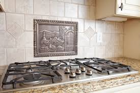 backsplash medallions kitchen 40 striking tile kitchen backsplash ideas pictures metal