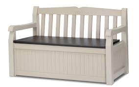 rubbermaid bench with storage de cluttering your garden with patio storage darbylanefurniture com