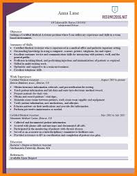 9 medical assistant resume samples free new hope stream wood