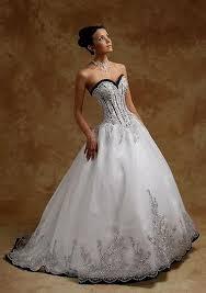 corset wedding dresses black and white corset wedding dresses naf dresses