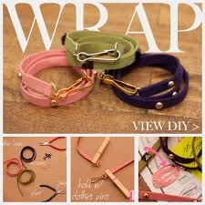 leather bracelet wrap make images Diy studded bracelets jpg