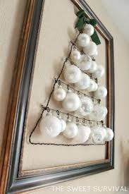 White Christmas Ornaments Diy by 237 Best Autism Friendly Christmas Decor Images On Pinterest