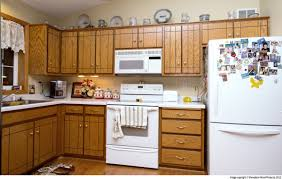 Refinish Kitchen Cabinets Plain Kitchen Cabinets Refacing Before And After Cabinet On Ideas