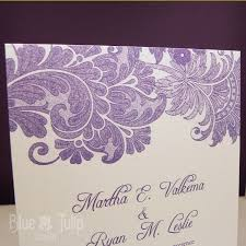 lavender wedding invitations lavender lace wedding invitation