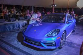 porsche night blue the 2018 porsche panamera unveiling porsche of hawaii