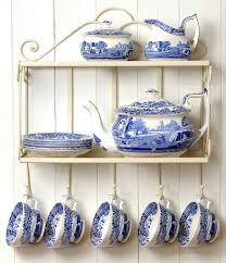 spode blue italian china dillards