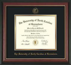 of south carolina diploma frame of carolina greensboro diploma frames uncg