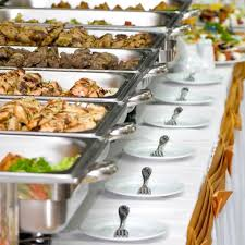 how to set a buffet table with chafing dishes free catering invoice template how to set catering prices
