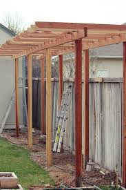 How To Build A Wooden Pergola by How To Build A Grape Arbor Step By Step Grape Arbor Arbors And
