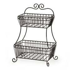 tiered fruit basket buy 2 tiered fruit basket from bed bath beyond