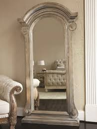 Beige Home Decor Furniture Grey Standing Jewelry Armoire With Armchair And Beige