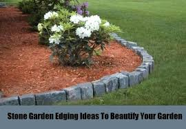 Bush Rock Garden Edging How To Shape A Garden Border Boulder Rocks To Create Edging How To