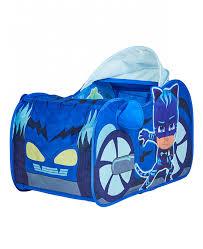 pj masks cat car play tent pop