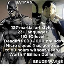 Martial Arts Memes - batman othebatbrand 127 martial art styles 23 languages 192 ig