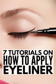 liquid eyeliner tutorial asian 7 fantastic tutorials to teach you how to apply eyeliner properly