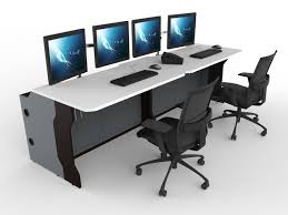 Control Room Desk Enfost Control Room Consolesrecessed Consoles Enfost Control