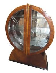 Art Deco Round Display Cabinet Https Www Facebook Com Photo Php Fbid U003d253890228301989