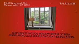 Window Glass Repair Miami Glass Repair In Moreno Valley Ca Ace Glass Youtube