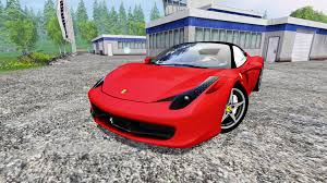 car ferrari 458 ferrari 458 italia for farming simulator 2015