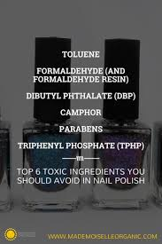 top 6 toxic ingredients you should avoid in nail polish