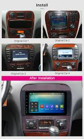 8 inch hd touchscreen radio for 1998 2005 mercedes benz s class