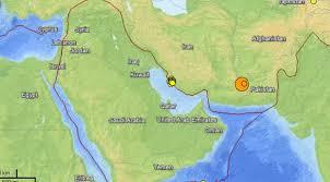 middle east earthquake zone map earthquake m7 8 86km ese of khash iran nows أخبار العالم