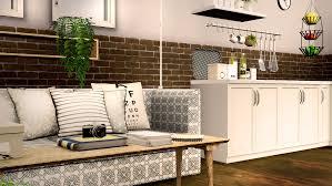 pyszny design scandinavian bedroom new set fixed sims 3 living